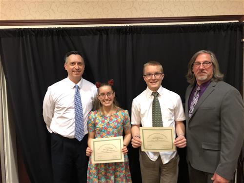 Illinois Principal Association Students of the Year